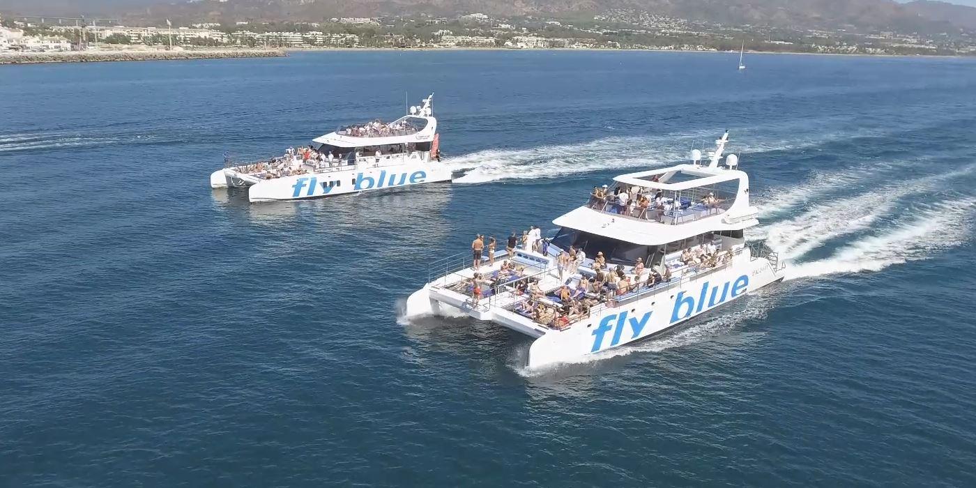 ventos costa del sol malaga marbella catamaran barco