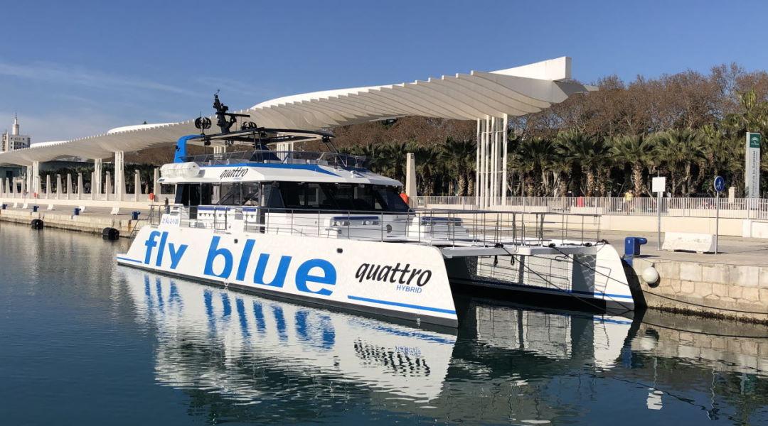 gran catamaran alquiler marbella banus malaga